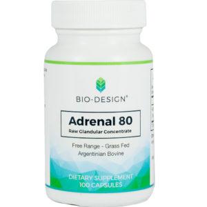 bottle of Adrenal pills.