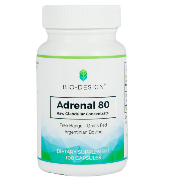 bottle of Adrenal pills.