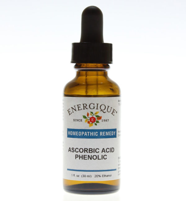 bottle of Ascorbic Acid Phenolic