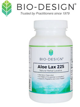 Bio-Design logo and featured product