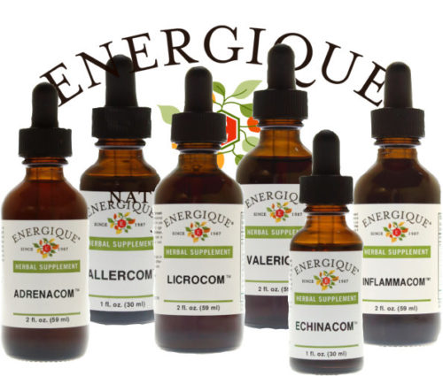 Herbal Combinations (Coms) from Energique