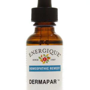 DermaPar bottle.