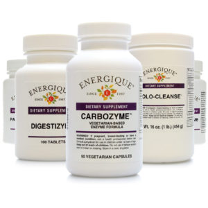 Digestive Aides, Enzymes and Probiotics from Energique®