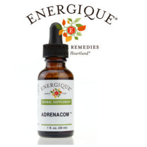 Energique logo with bottle