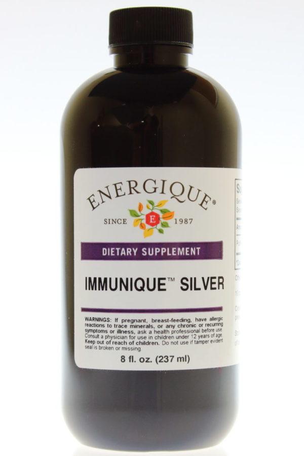 8 oz bottle of Immunique Silver