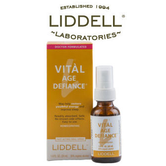 Liddell Labs logo and Vital Age Defiance