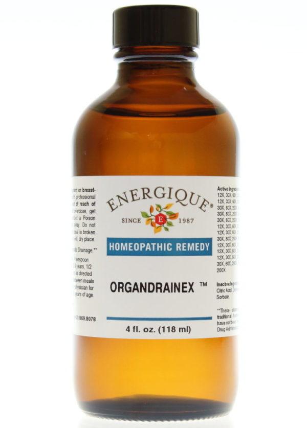 4 oz bottle of OrganDrainEx