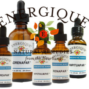 Homeopathic Pars (Glandulars/Organs) from Energique®