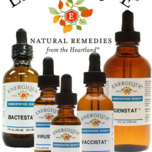 Homeopathic Stat (Detoxifying) Formulas from Energique®