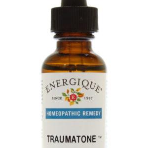 TraumaTone in glass dropper bottle.
