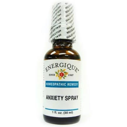 bottle of Anxiety Spray.
