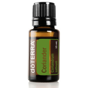 Coriander essential oil.