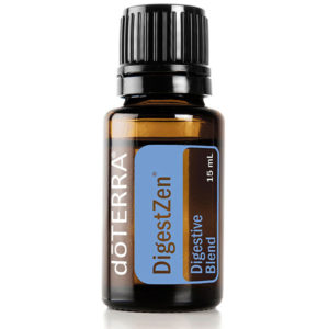 digestZen essential oil bottle.