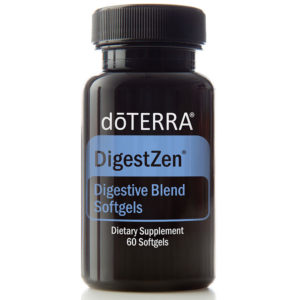 DigestZen jar of soft-gel capsules.