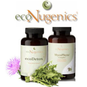 ecoNugenics logo with products