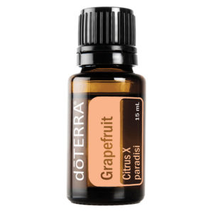 Grapefruit essential oil by doTerra.