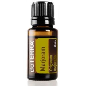 Marjoram essential oil.