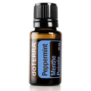 Peppermint Essential Oil by doTERRA.