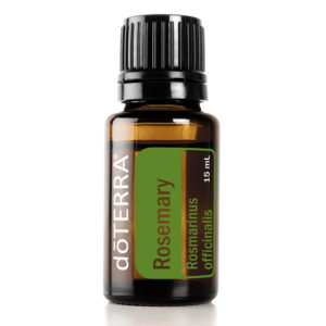 Rosemary essential oil by doTerra.