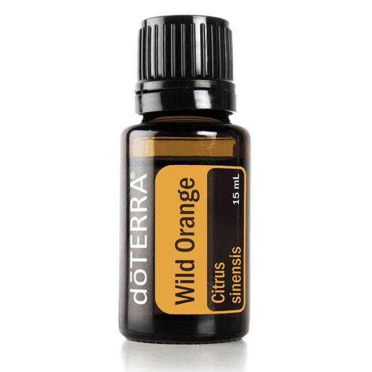 Wild Orange Essential Oil by doTerra.